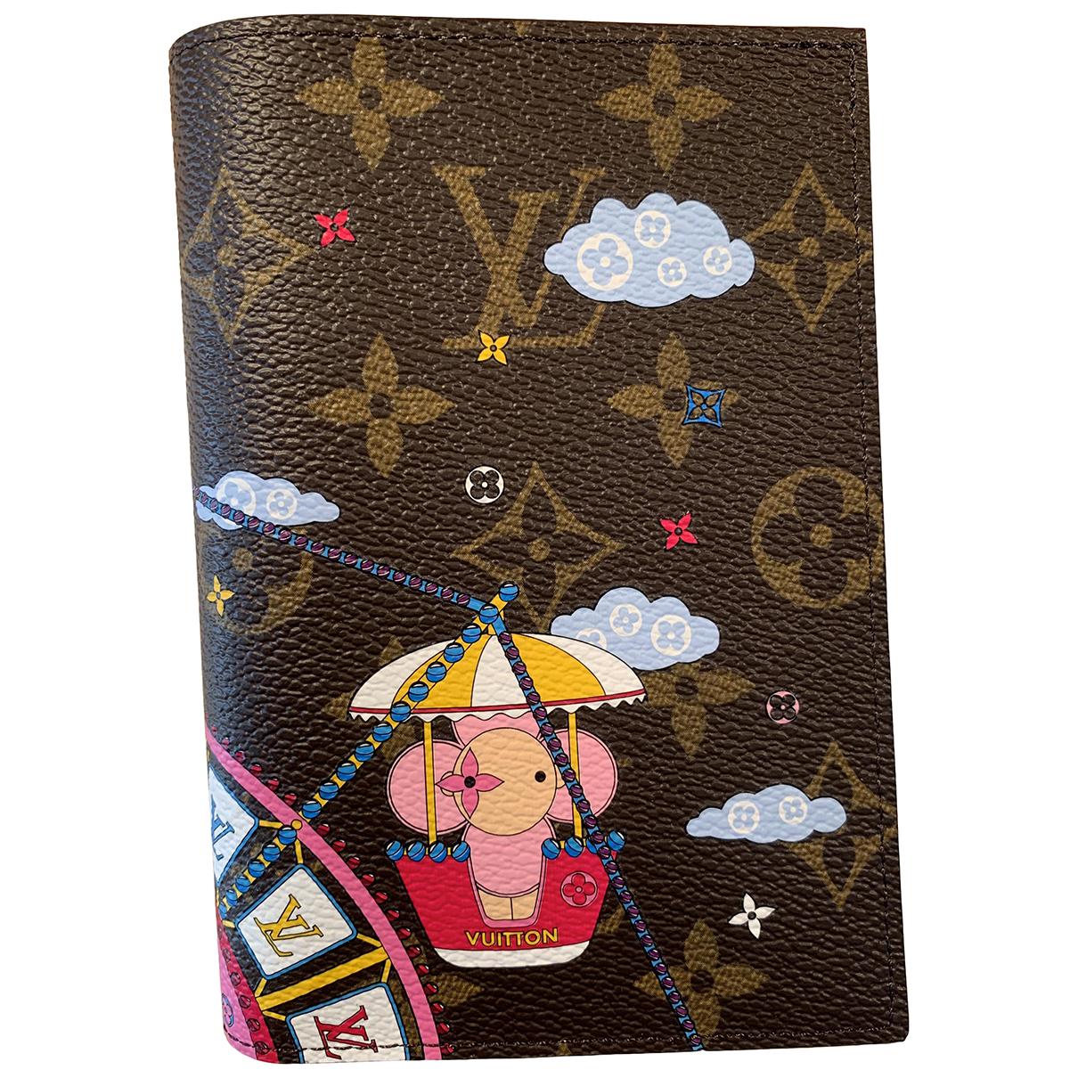 Tarjetero Passport cover de Lona Louis Vuitton
