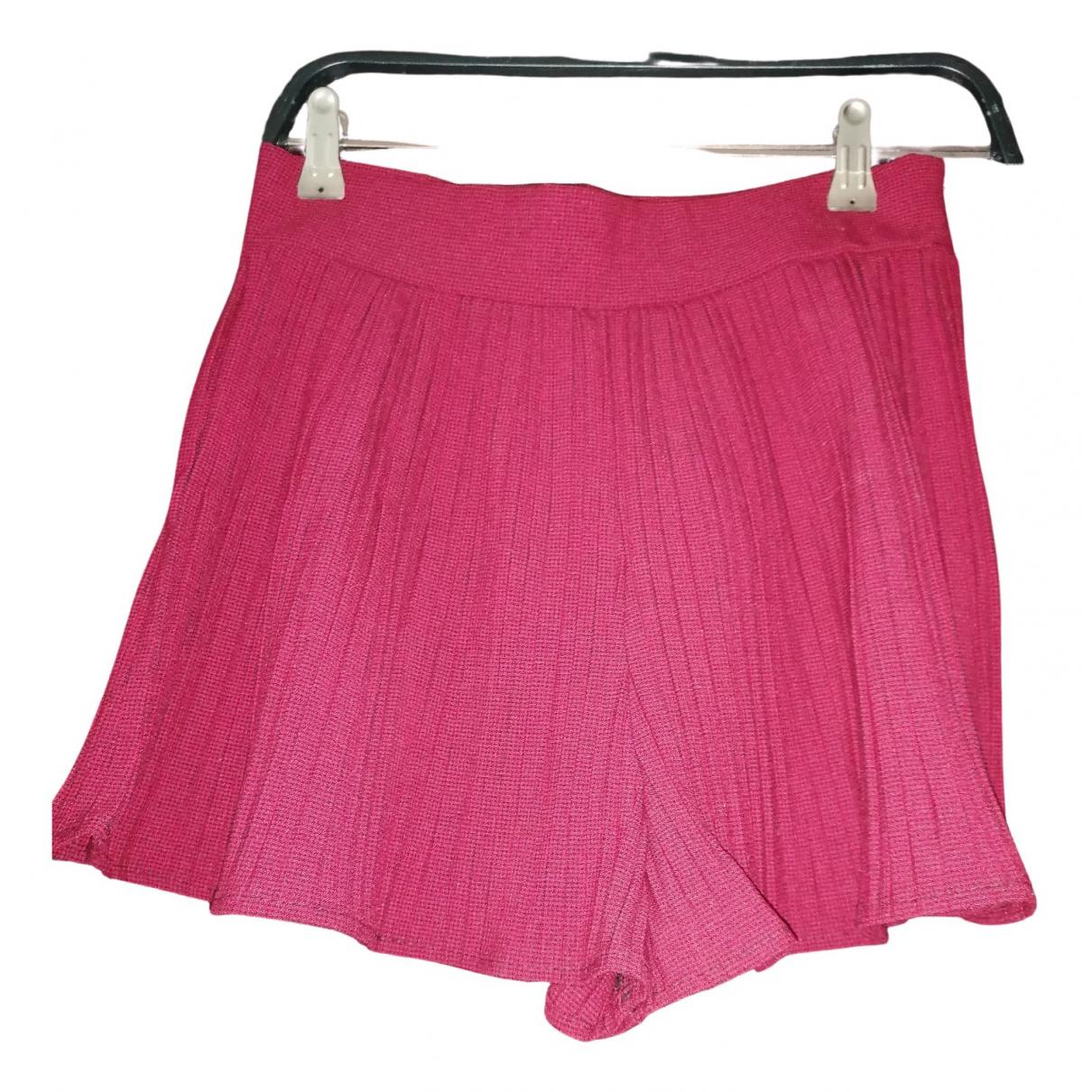 Zara \N Burgundy Shorts for Women S International