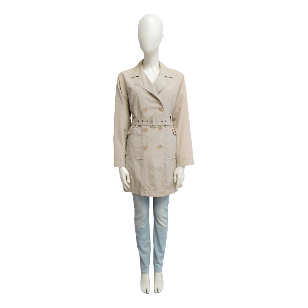 Armani Jeans \N Kleid in  Beige Baumwolle