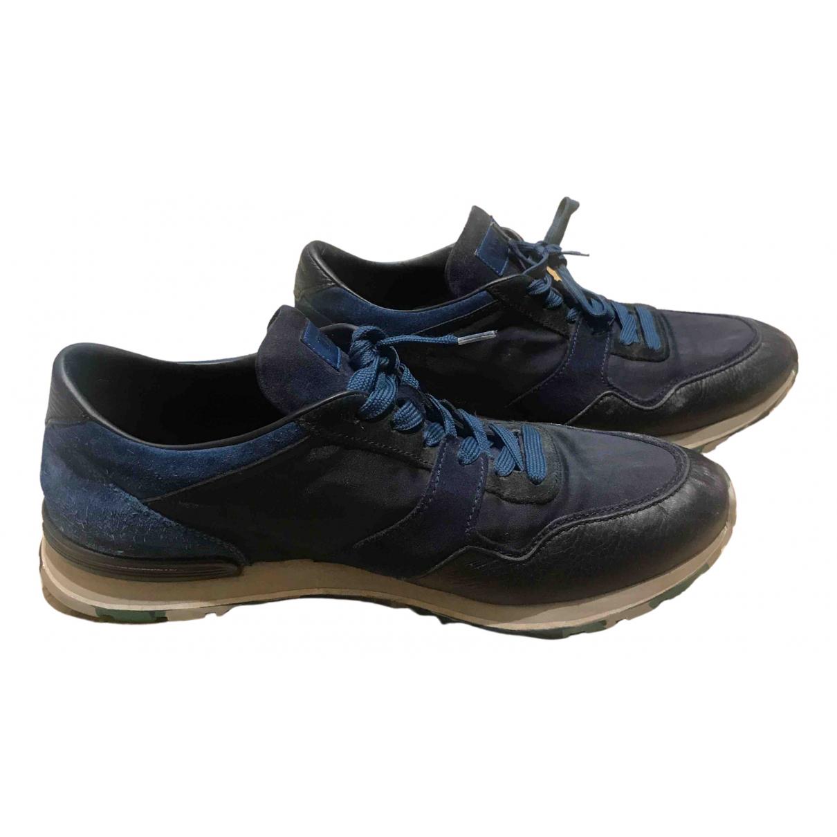 Tods \N Sneakers in  Blau Leinen