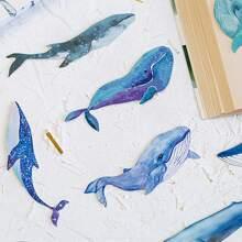 30 Stuecke Wal formige Buchzeichen