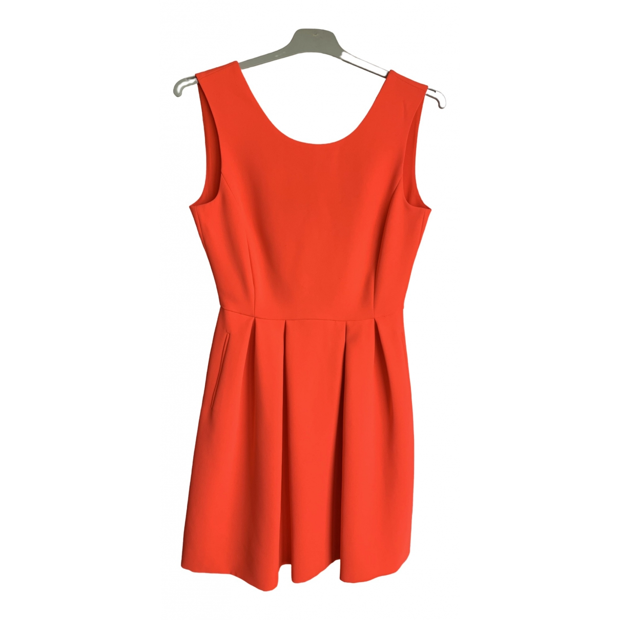 Claudie Pierlot \N Kleid in  Orange Synthetik