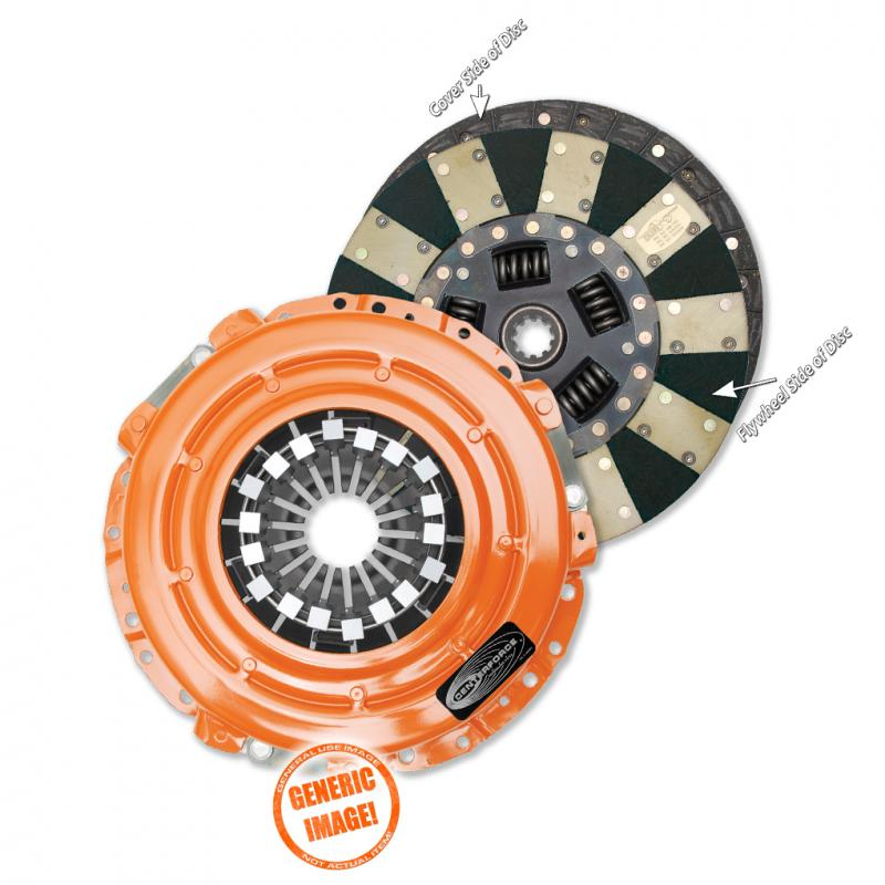 Centerforce DF049066 Dual Friction(R), Clutch Pressure Plate and Disc Set Dodge 2.2L 4-Cyl Manual