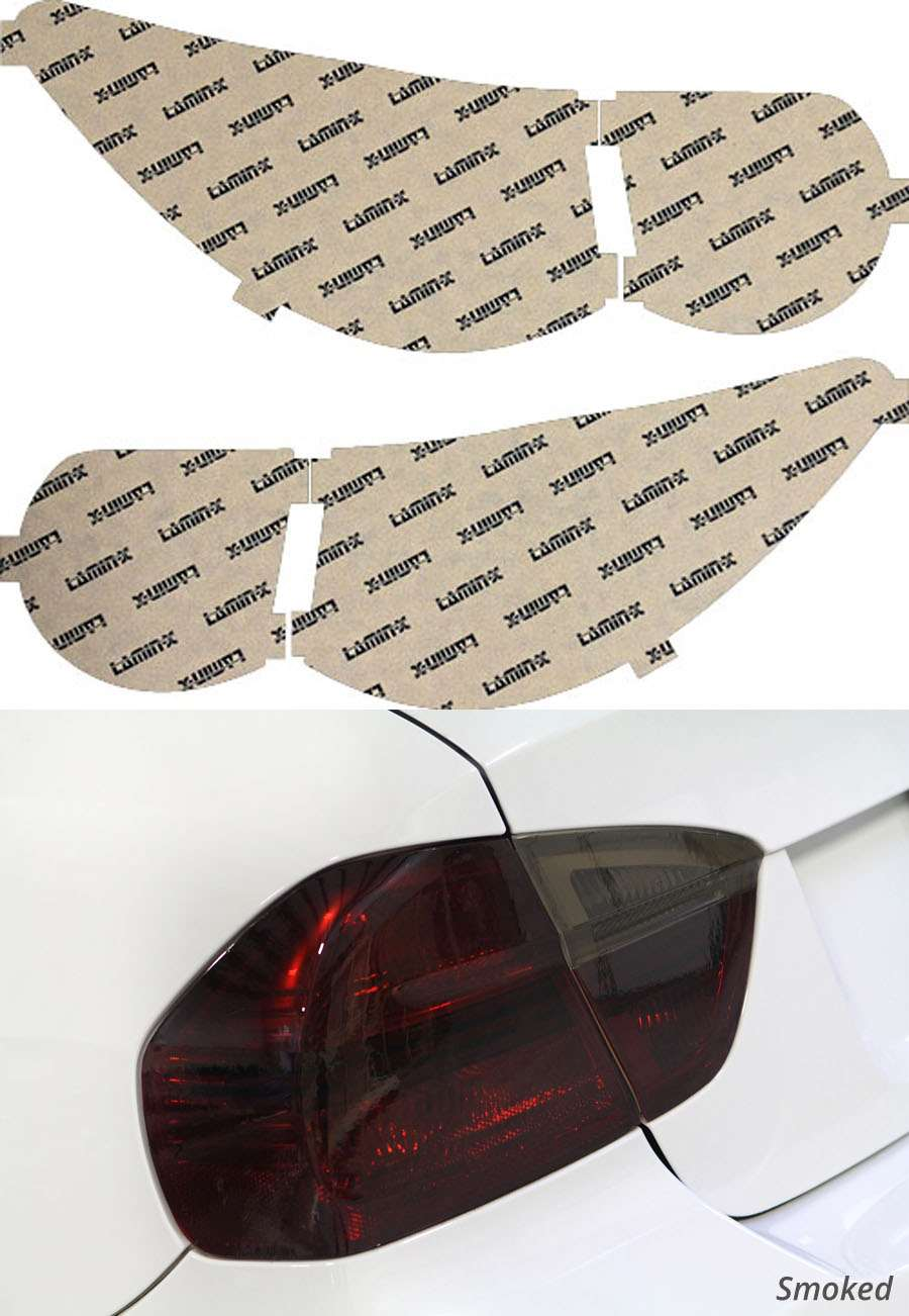 Chevrolet Traverse 09-12 Smoked Tail Light Covers Lamin-X CH227S