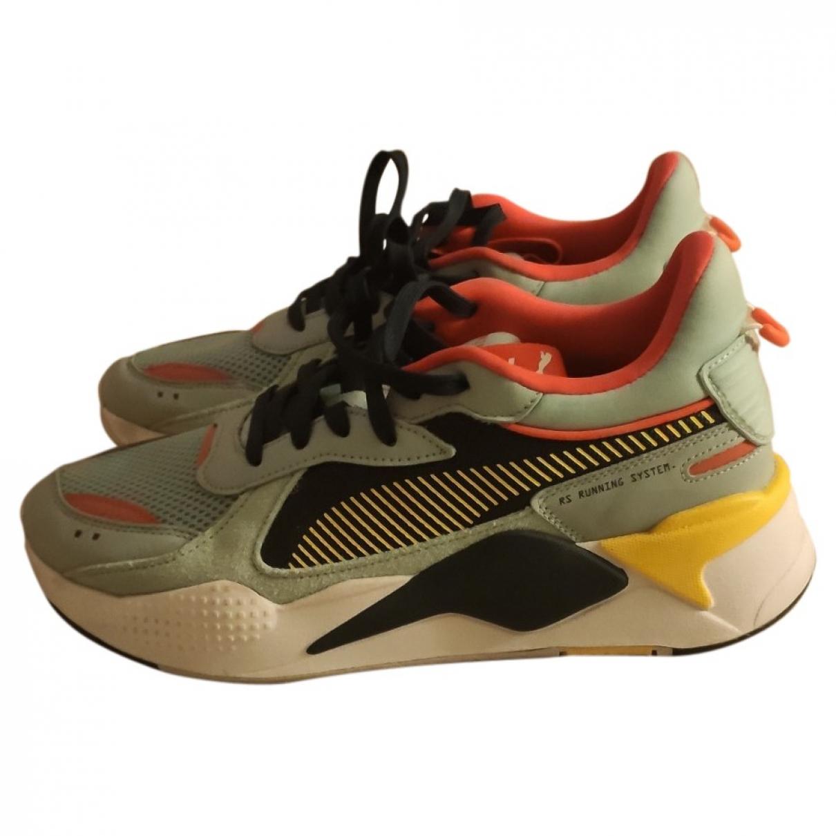 Puma - Baskets   pour homme en toile - multicolore