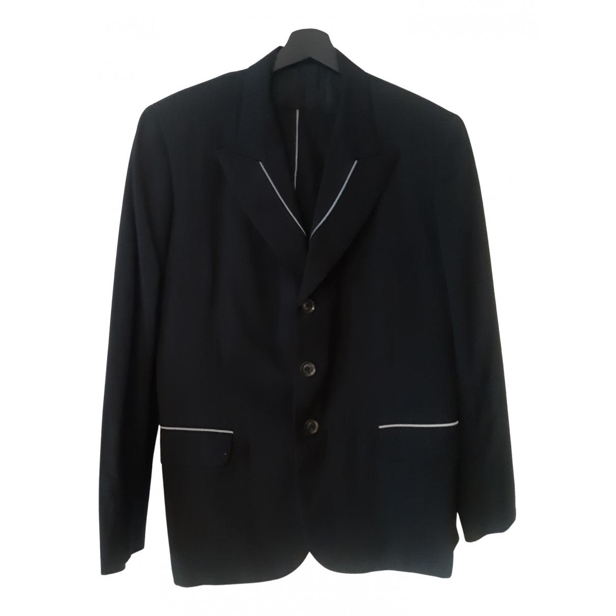 Ys - Costumes   pour homme en laine - noir