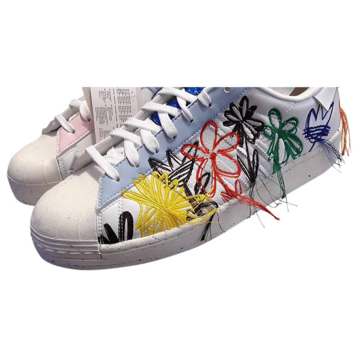 Adidas \N Multicolour Leather Trainers for Men 44 EU