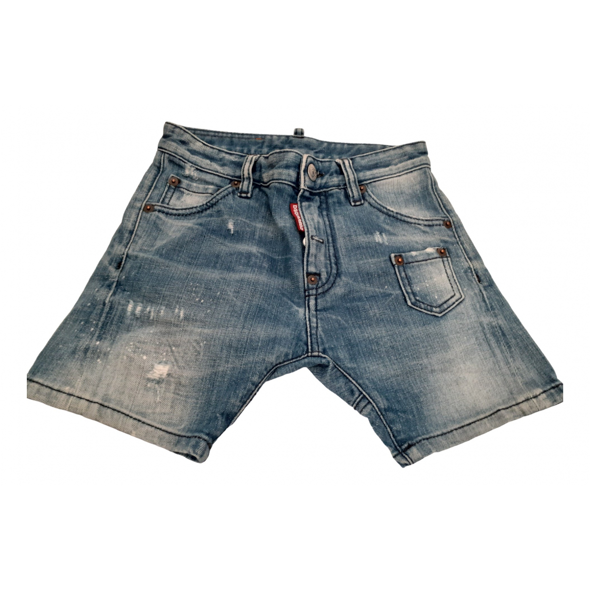 Dsquared2 \N Blue Denim - Jeans Shorts for Kids 8 years - until 50 inches UK