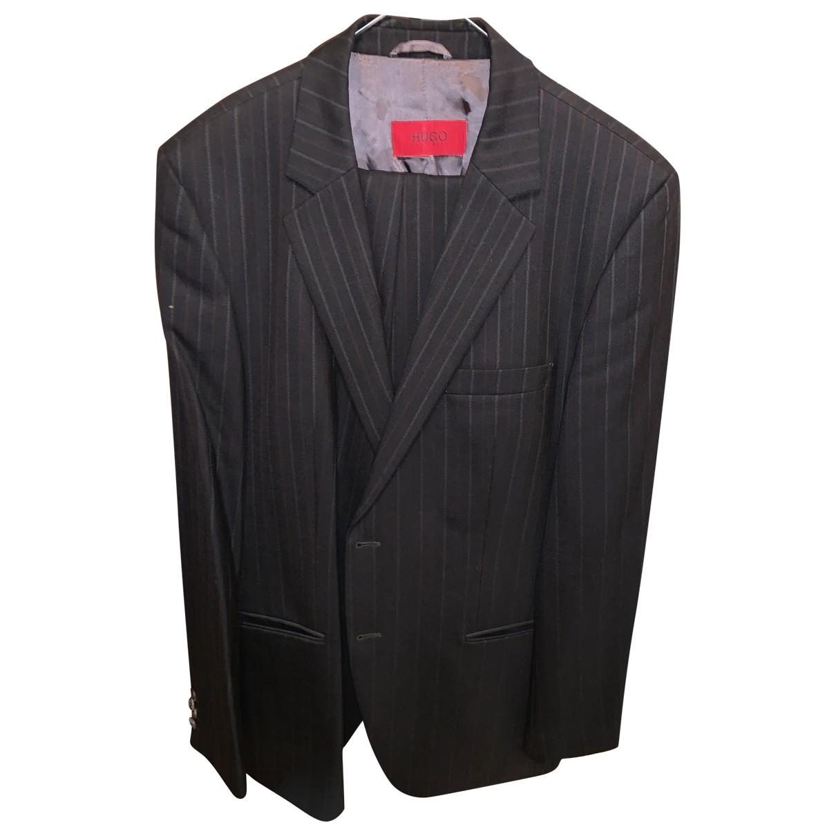 Hugo Boss \N Black Wool Suits for Men M International