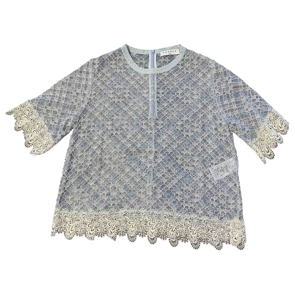 Sandro \N Blue Lace  top for Women 1 US