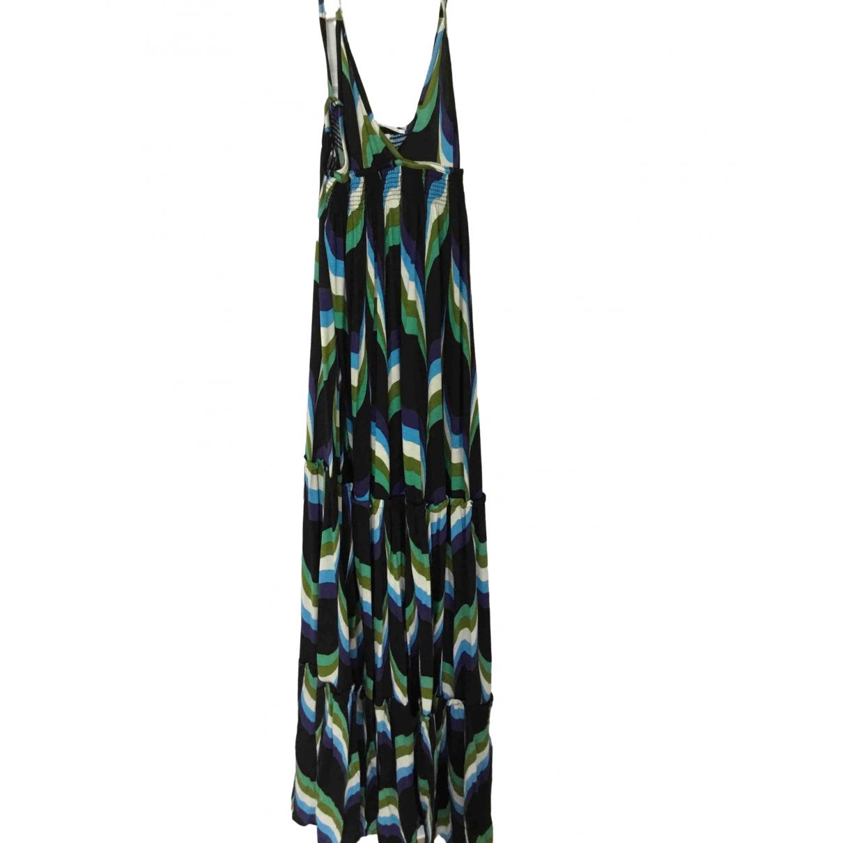 Non Signé / Unsigned Epaulettes dress for Women 40 IT