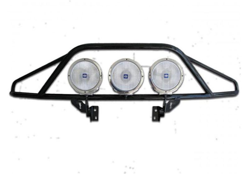 N-Fab D093LH Gloss Black Pre-Runner Light Bar Dodge Ram 1500 09-18