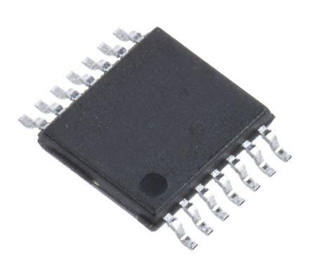 Maxim Integrated MAX9034AUD+ , Quad Comparator, Rail to Rail O/P, +2.5 → +5.5 V 14-Pin TSSOP (96)
