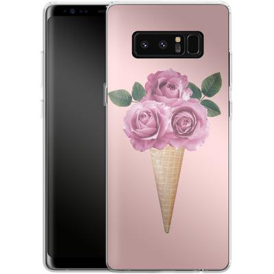 Samsung Galaxy Note 8 Silikon Handyhuelle - Ice-cream 3 von Emanuela Carratoni