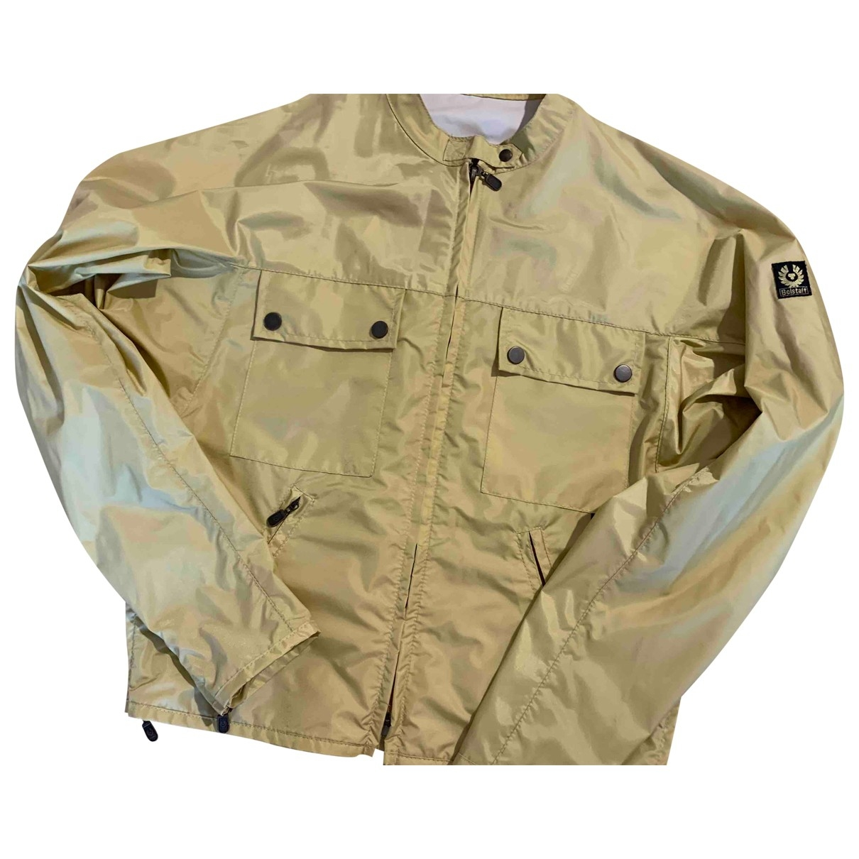 Belstaff \N Trench in  Gold Synthetik