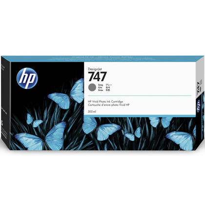 HP 747 P2V86A Original Gray Ink Cartridge