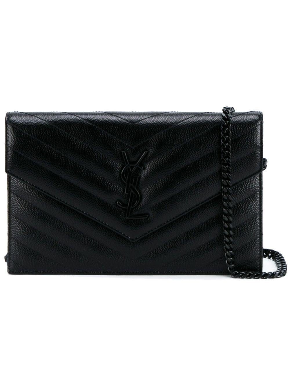 Envelope Leather Wallet On Chain