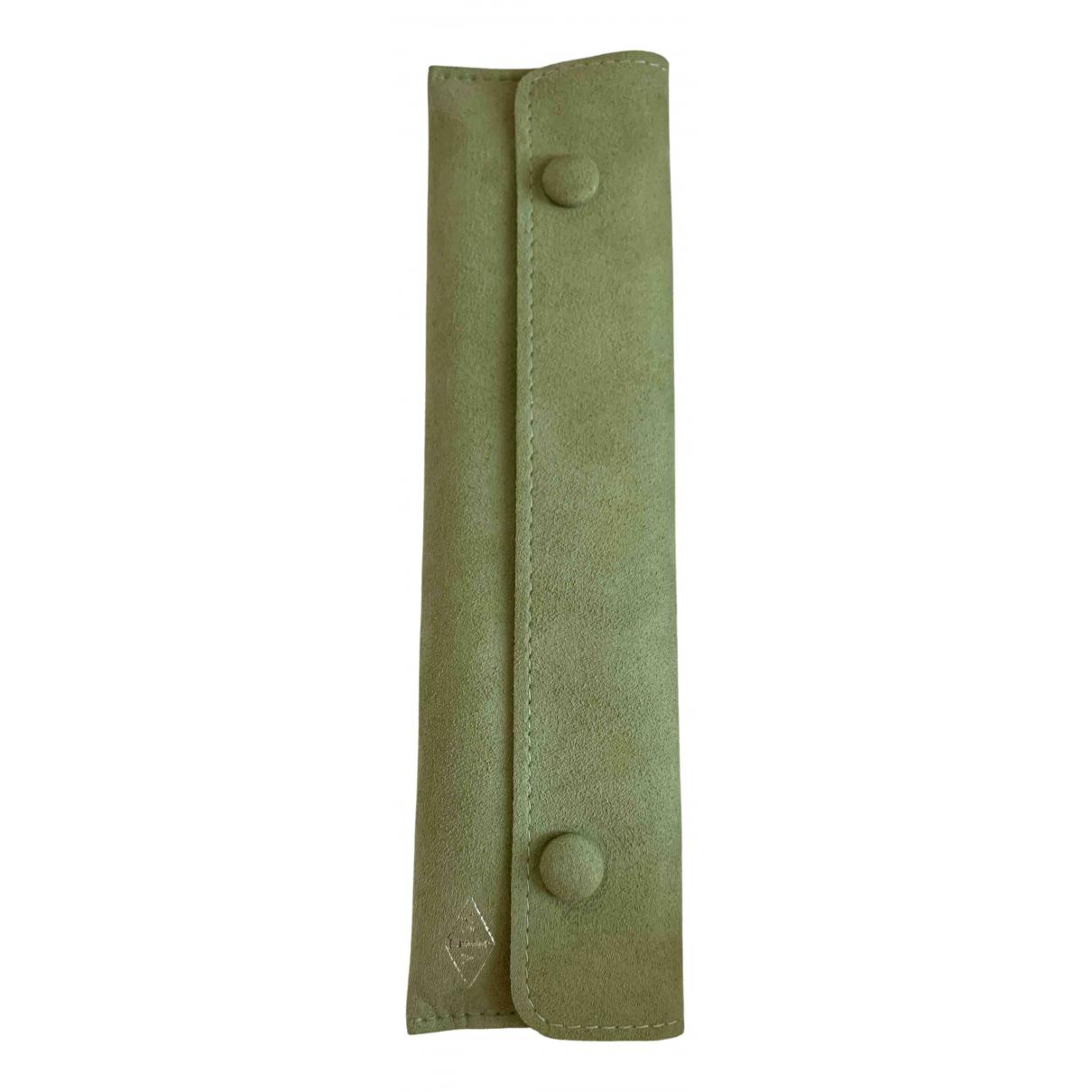 Van Cleef & Arpels - Objets & Deco   pour lifestyle en cuir - vert