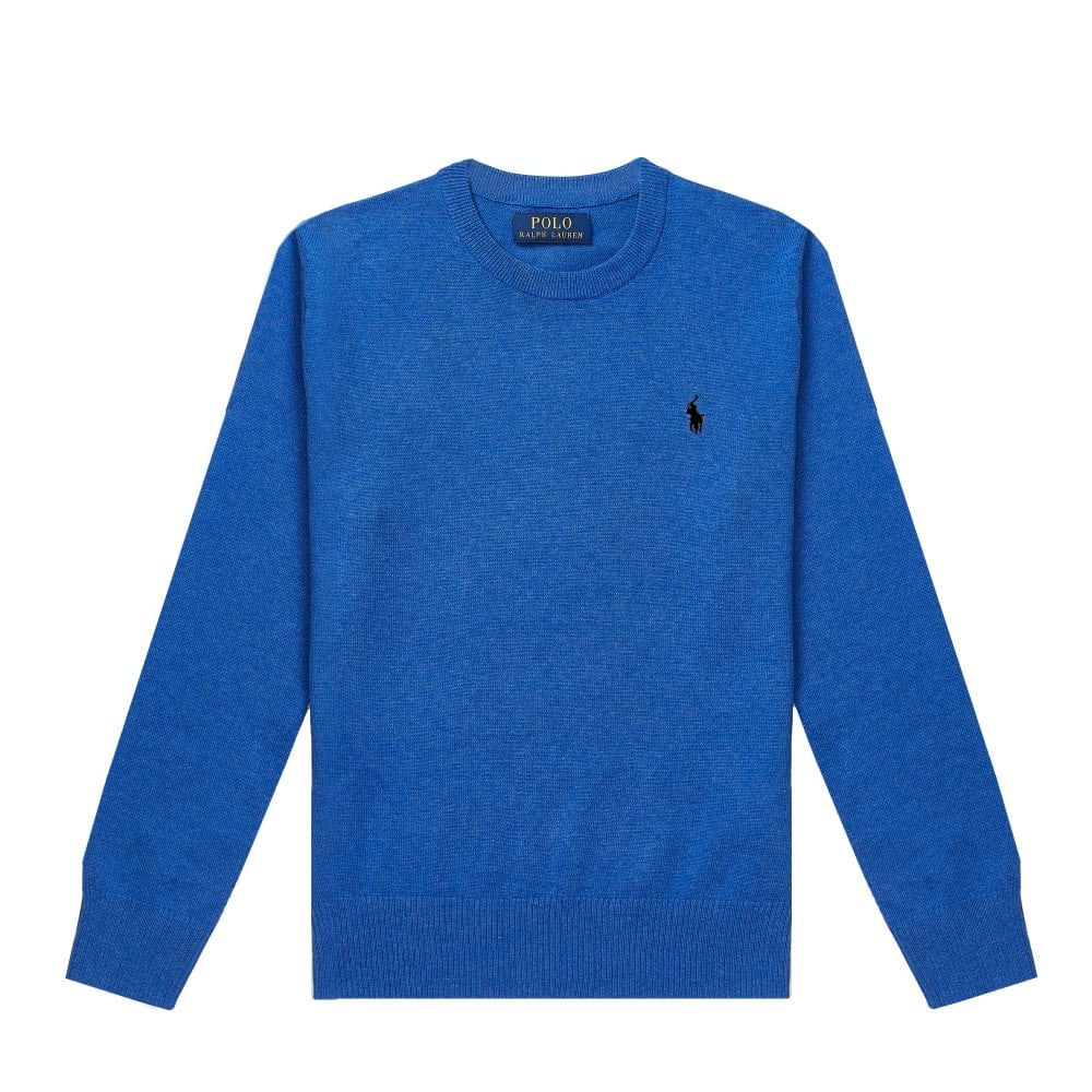 Ralph Lauren Kids Logo Sweatshirt Size: L (14-16 YEARS), Colour: BLUE