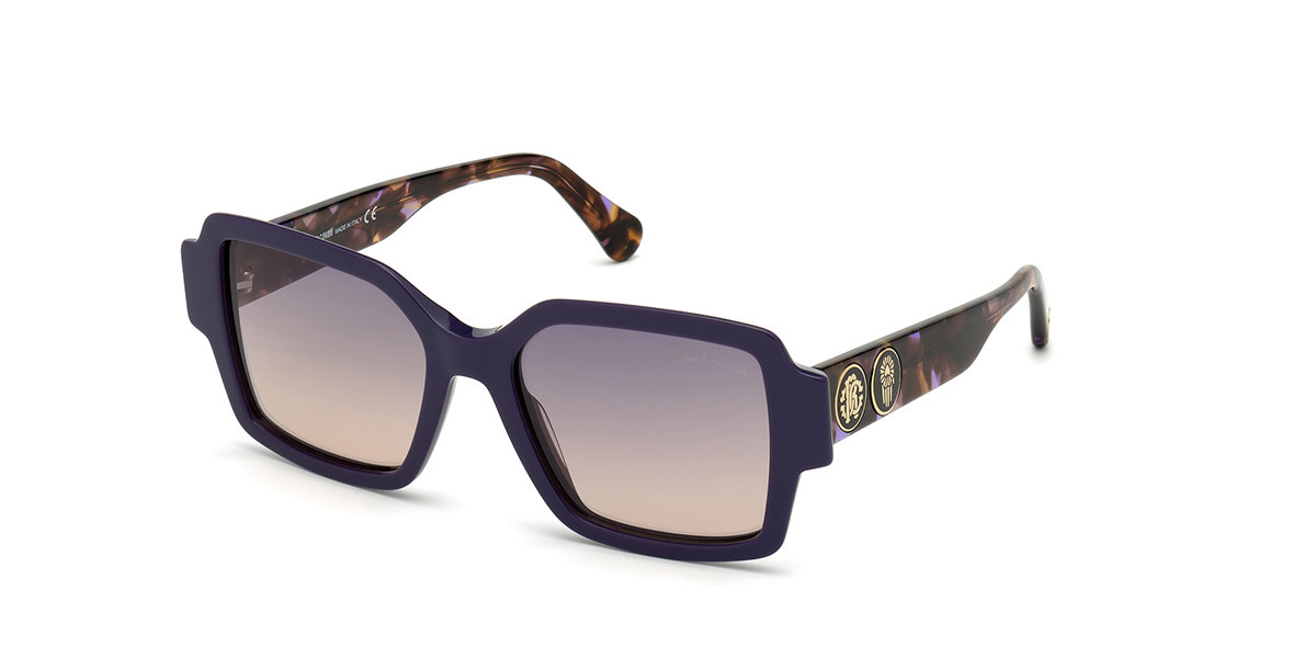 Roberto Cavalli RC 1130 81W Women's Sunglasses Violet Size 54