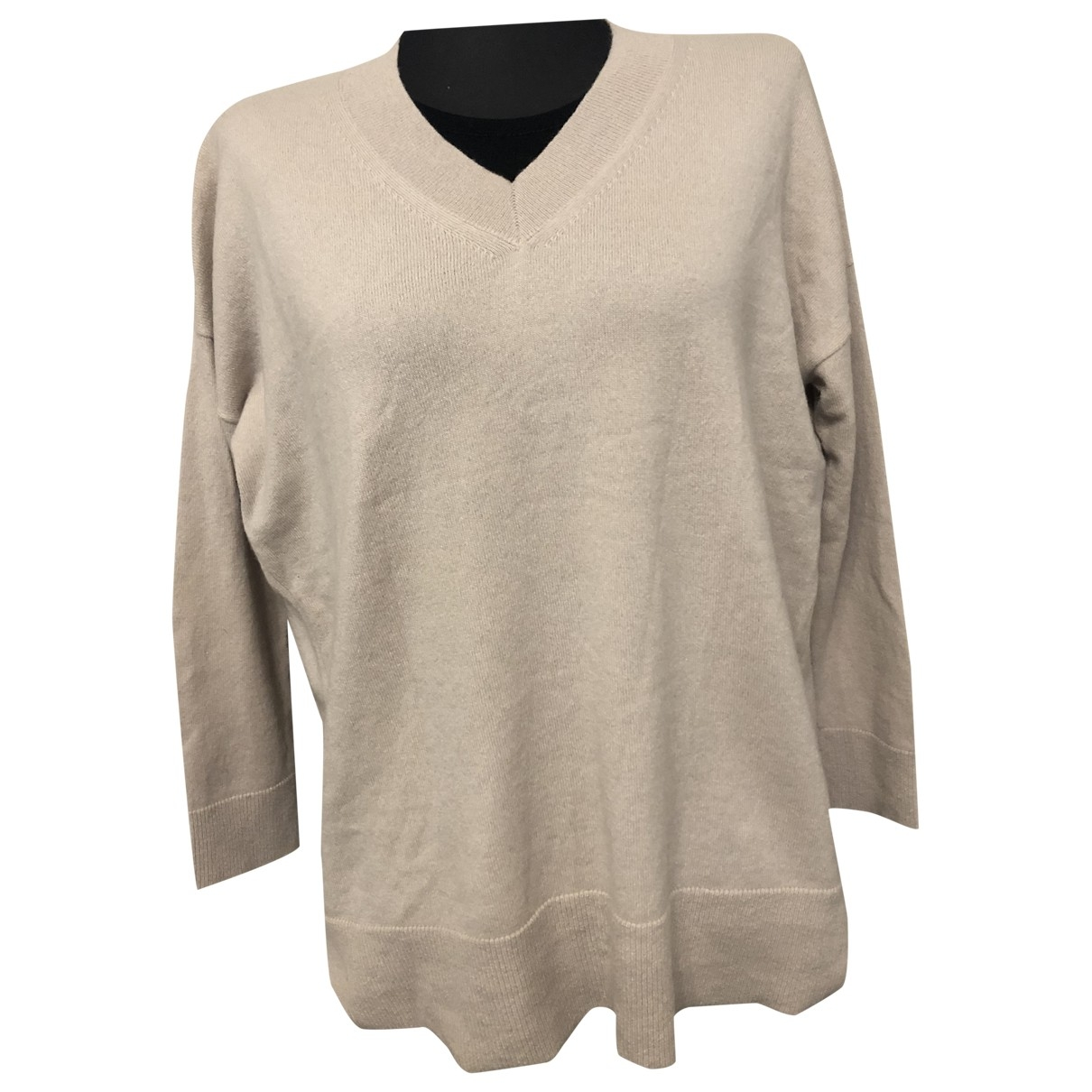 Hemisphere \N Beige Cashmere Knitwear for Women 42 IT