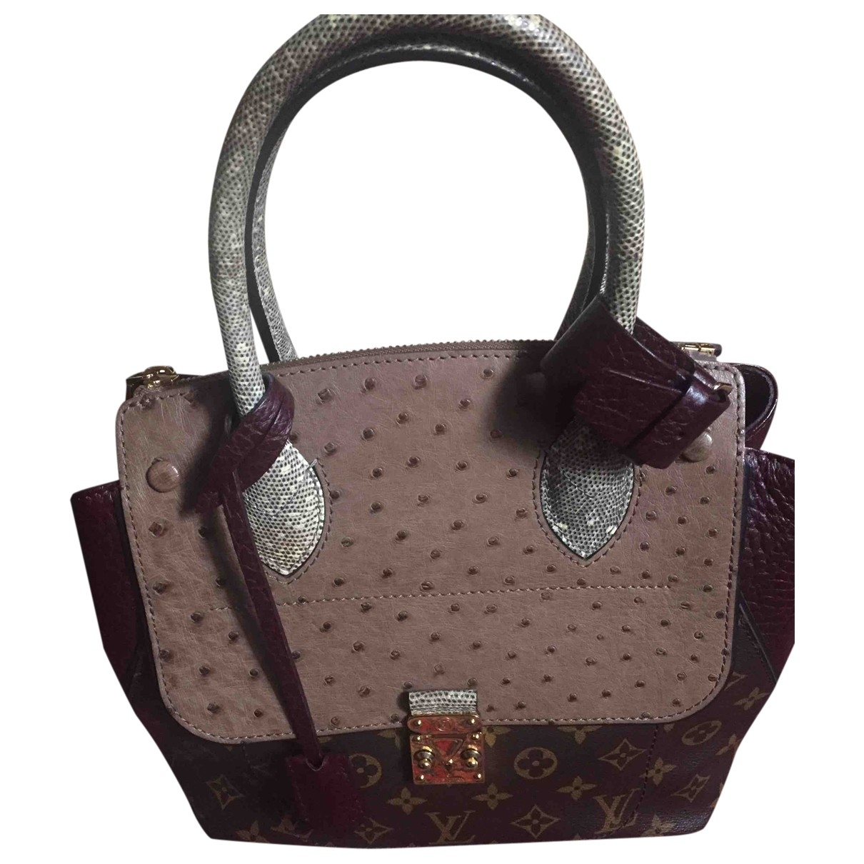 Louis Vuitton Le Majestueux Multicolour Ostrich handbag for Women \N