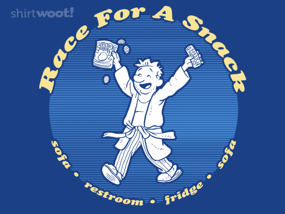 Race For A Snack T Shirt