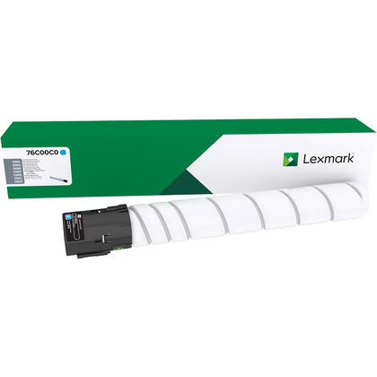 Lexmark 76C00C0 Original Cyan Toner Cartridge