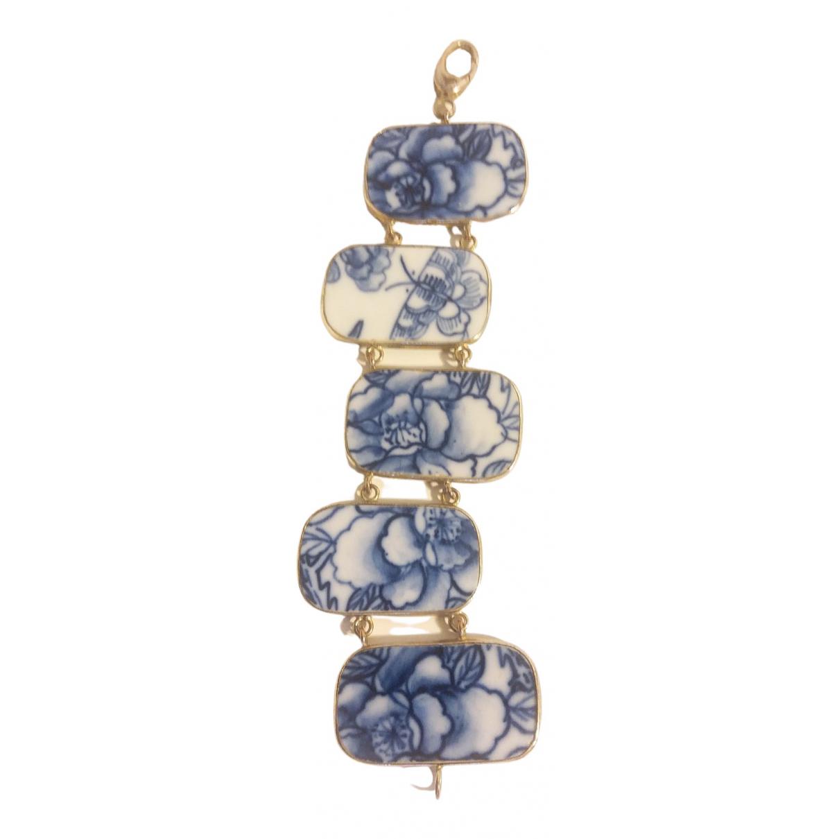 - Bracelet   pour femme en ceramique - bleu