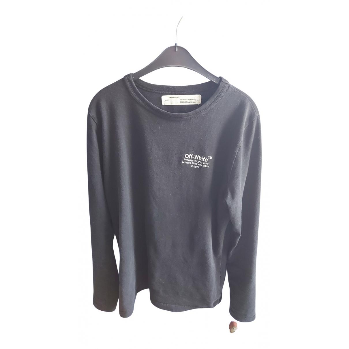 Off-white \N T-Shirts in  Schwarz Baumwolle