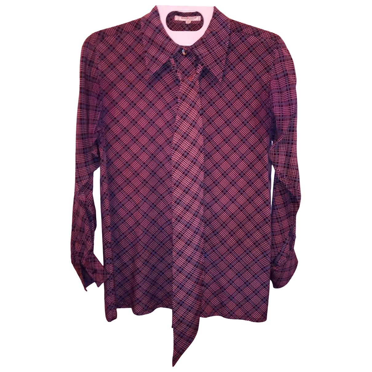 Yves Saint Laurent \N Multicolour Silk  top for Women 36 FR