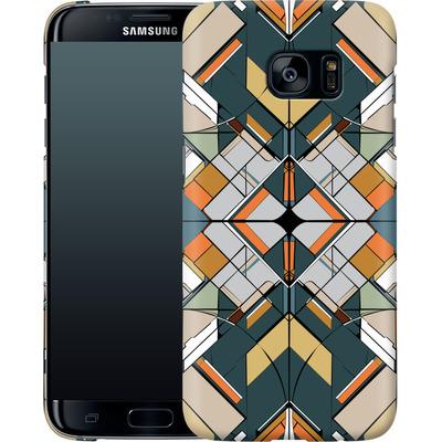 Samsung Galaxy S7 Edge Smartphone Huelle - Mosaic I von caseable Designs