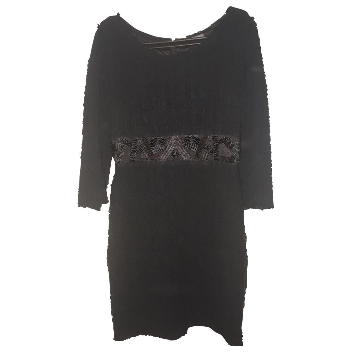 Alberta Ferretti \N Black Silk dress for Women 40 IT