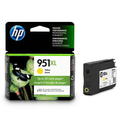 HP 951XL CN048AN cartouche d'encre originale jaune haute capacité