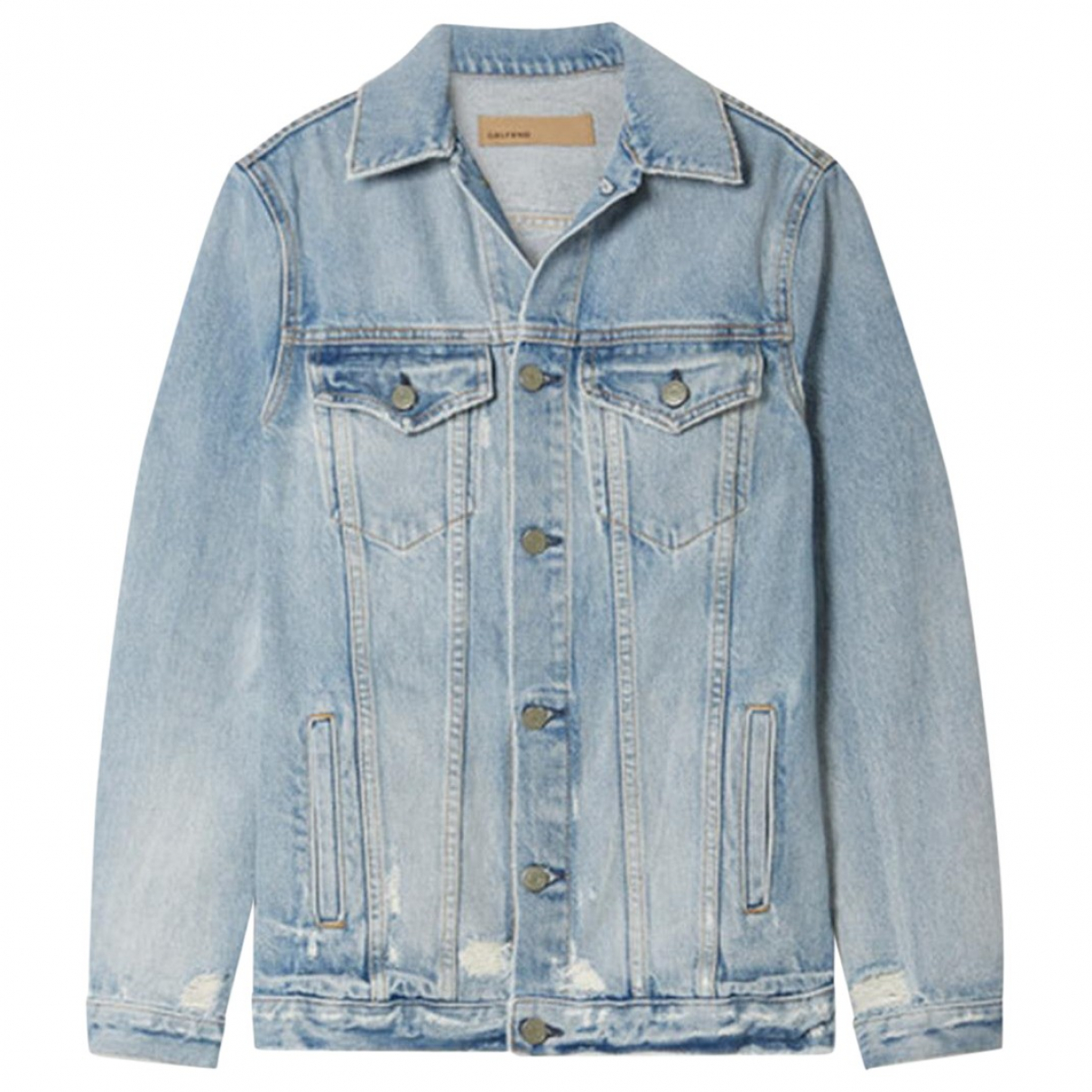 Grlfrnd \N Jacke in  Blau Denim - Jeans