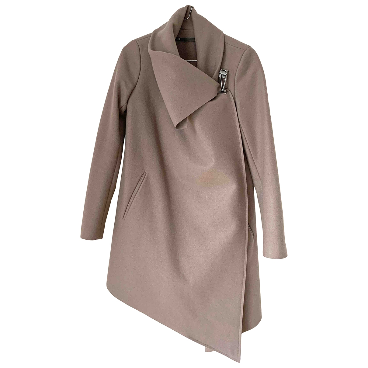 All Saints \N Brown Wool coat for Women 4 UK