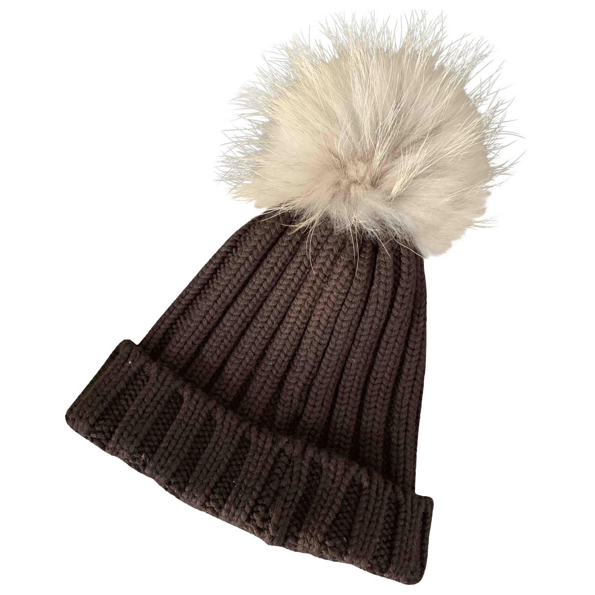Non Signé / Unsigned \N Brown Wool hat for Women XS International