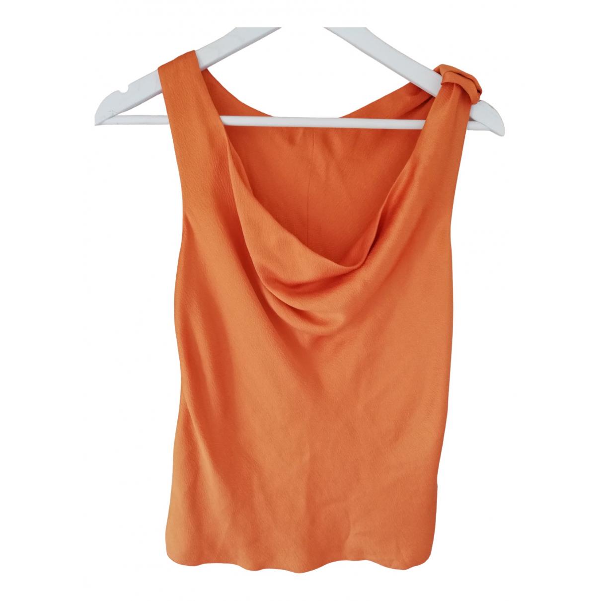 Giorgio Armani - Top   pour femme - orange