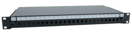 RS PRO 24 Port Fibre Optic Patch Panel, 1U
