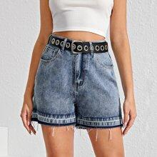 Jeans Shorts ohne Guertel
