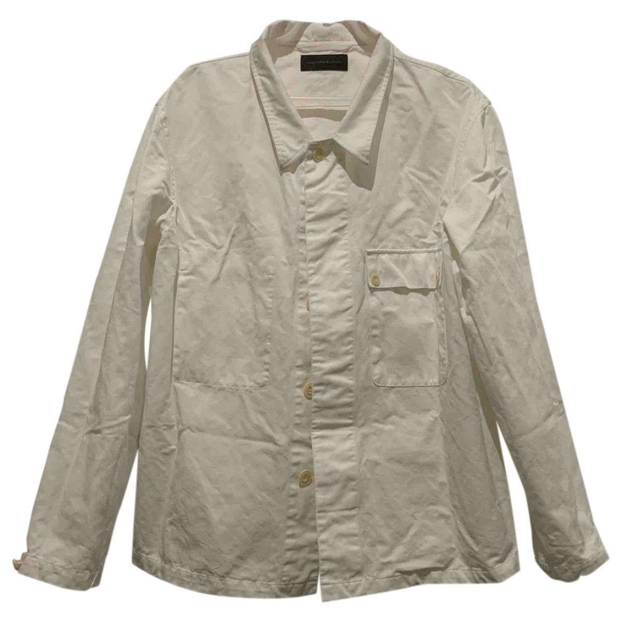 Lemaire - Vestes.Blousons   pour homme en coton - blanc