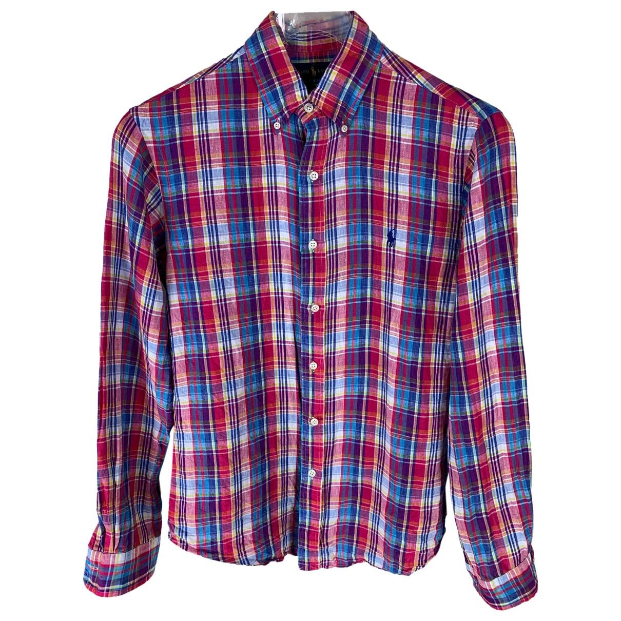 Ralph Lauren - Chemises   pour homme en lin - multicolore