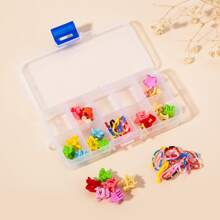 60pcs Toddler Girls Simple Hair Accessory