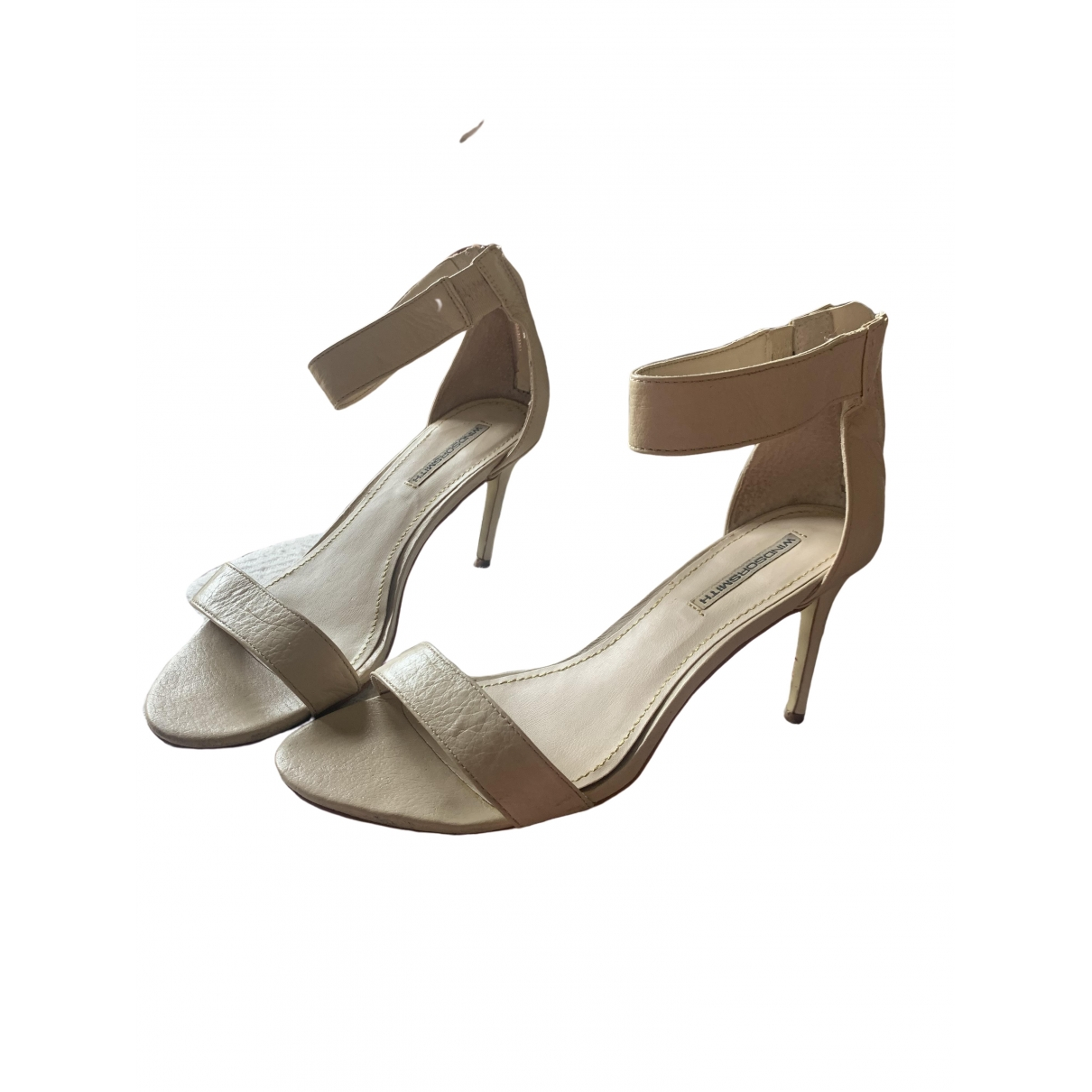 Windsor Smith \N Pumps in  Beige Leder