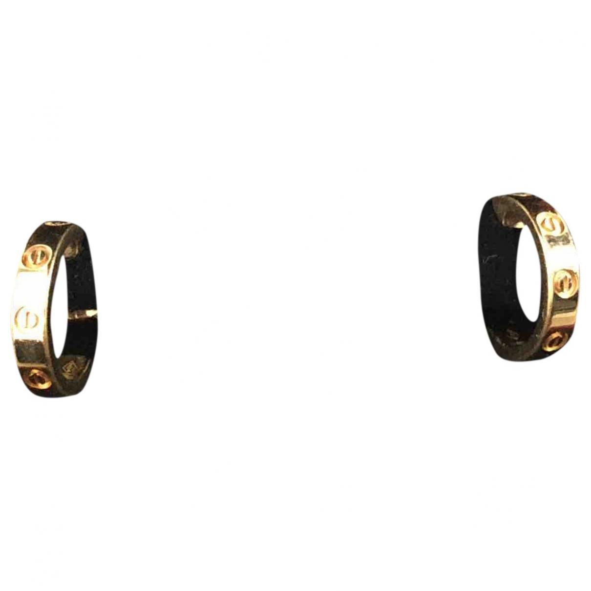 Cartier Love Gold Yellow gold Earrings for Women \N