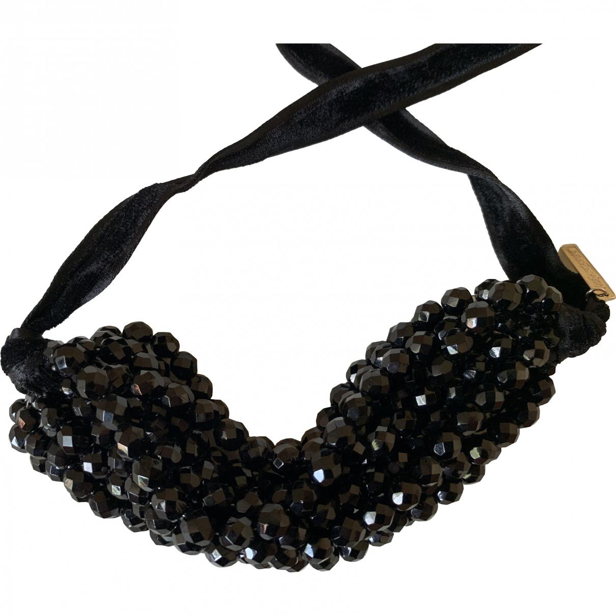 Yves Saint Laurent \N Black Metal necklace for Women \N