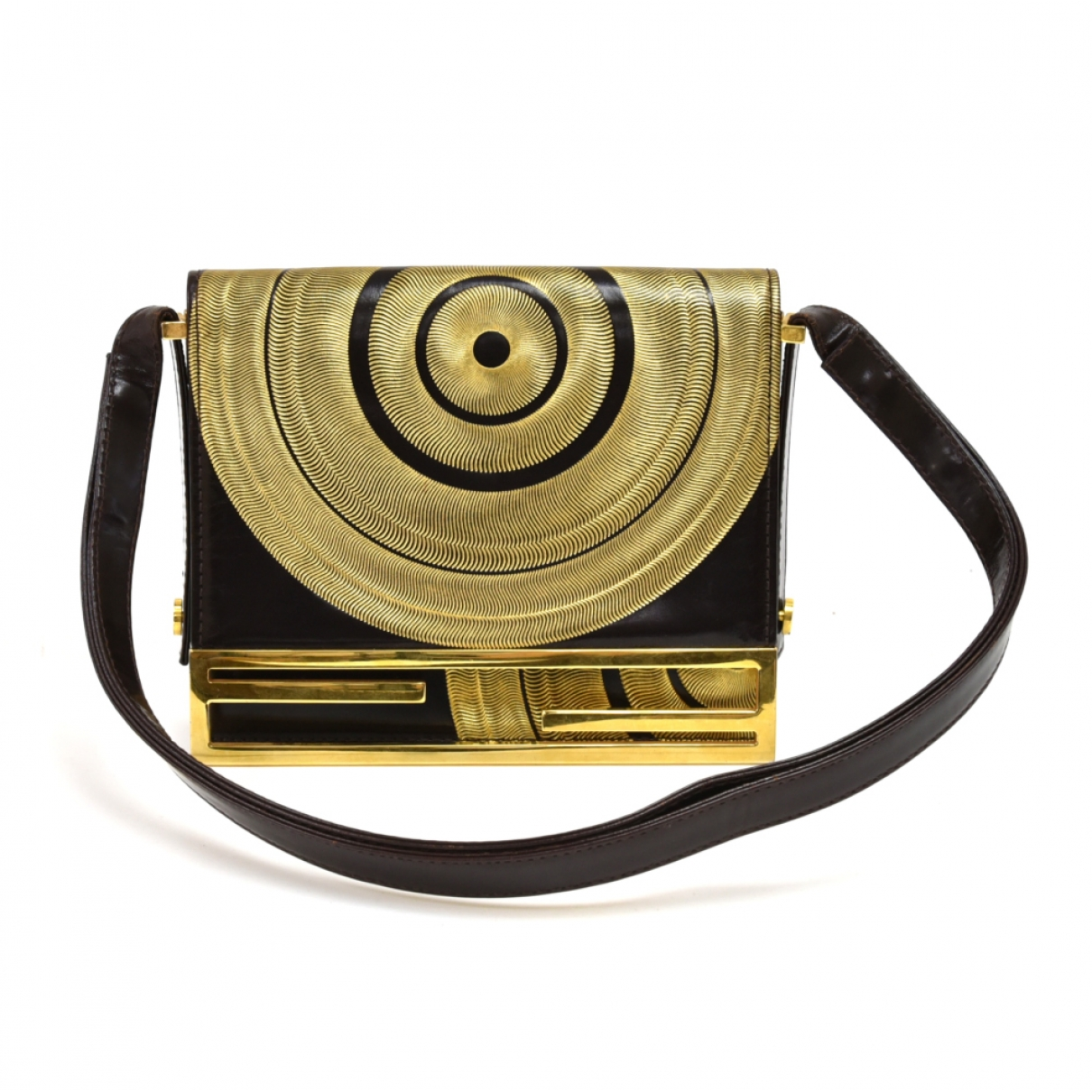 Fendi \N Handtasche in  Gold Metall