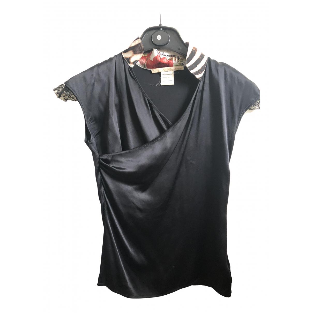 Camiseta de Seda Class Cavalli