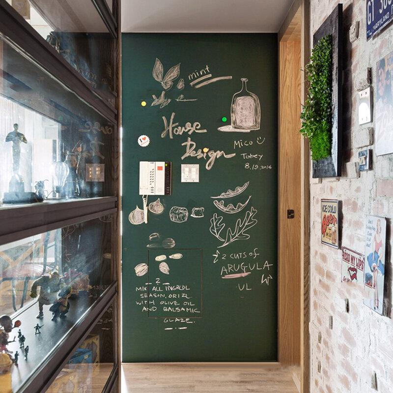 Environmental Friendly Soft Blackboard Sticker Green Board White Board