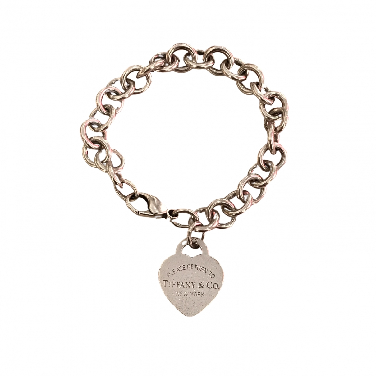 Tiffany & Co Return to Tiffany Silver Silver bracelet for Women \N